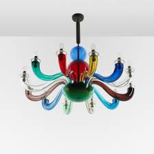Octopus Ceiling Light by 116 Gio Ponti Important And Early Chandelier From The Ponti