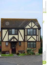 english mock tudor house stock photo image 41692922