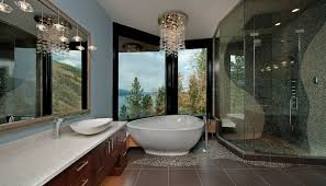hot summer trend 25 dashing powder rooms with tropical flair 50 bathrooms that know to make the most of great views