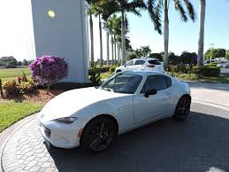 2017 new mazda mx 5 miata rf club manual at royal palm mazda