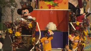national thanksgiving turkey on parade at disneyland