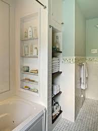 powder bathroom design ideas small bathroom ideas with shower rounded glass shape gold frame