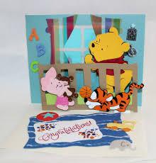 winnie the pooh pop up card