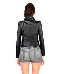 leather motorcycle jacket slim fit leather moto jacket for women at leatherright
