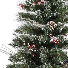 9 ft x 51 in snow tip pine berry vickerman