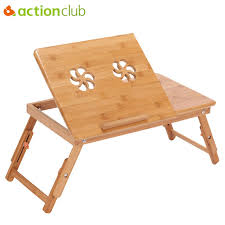 Laptop Sofa Desk Actionclub Portable Folding Bamboo Laptop Table Sofa Bed Office