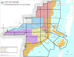 Miami Dade College Wolfson Campus Map by Map Of Miami City Of Miami Map Florida Usa