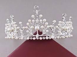 tiaras uk silver tiara wedding pearl crown rhinestone pageant