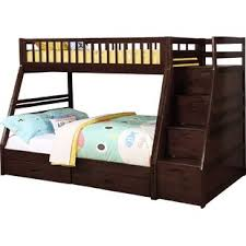 espresso bunk u0026 loft beds you u0027ll love wayfair