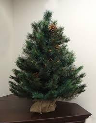 3 x 23 royal oregon needle pine artificial tree in