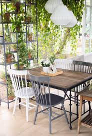 Big W Home Decor Dining Room Interior With Table Chairs And Plants Against Big W
