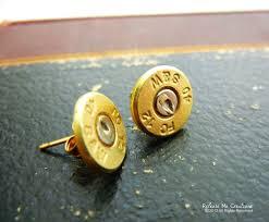 bullet stud earrings smith wesson bullet stud earrings release me creations