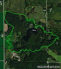 Wisconsin Dnr Lake Maps by Spring Lake U2013 Manitowoc County Lakes Association