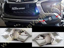 All New Pajero Sport List Kap Mobil Depan Molding Chrome deflekta all new pajero sport aksesoris variasi mobil at situsvariasi