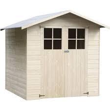 cabane jardin abri de jardin bois métal résine chalet de jardin leroy merlin