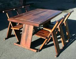 Folding Dining Table Set Collapsible Dining Table And Chairs Folding Dining Table Designs