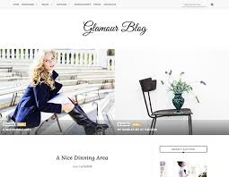 glamour personal blogger template oddthemes