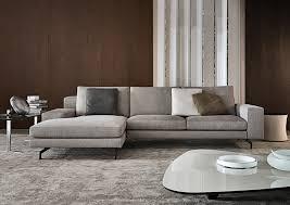 Minotti Andersen Sofa Sherman Sofa Designed By Rodolfo Dordoni Minotti Orange Skin