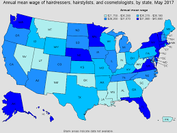 hair stylist salary 2014 hairdressers hairstylists and cosmetologists