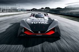 peugeot sports models peugeot l750 r hybrid vision coming to gran turismo sport motor