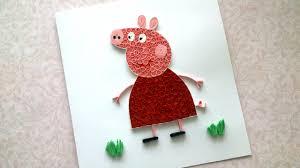 diy peppa pig peppa pig birthday card funny birthday ideas