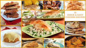 thanksgiving chicken dishes 10 quick and easy chicken recipes recipelion com