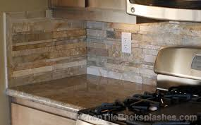 Simple Nice Stacked Stone Backsplash Tile Best  Stacked Stone - Layered stone backsplash