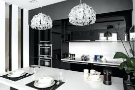 black and white pendant lights modern black and white kitchen designs modern black and white