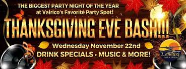 thanksgiving bash at the landing ta fl nov 22