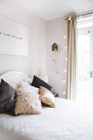 exciting shining string lights for bedroom design how to hang
