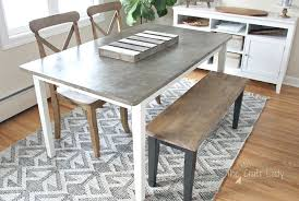 diy concrete table top diy concrete table top 2 years later the crazy craft lady