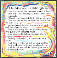 wedding wishes kahlil gibran on marriage magnet kahlil gibran food for thought
