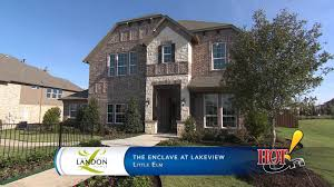 landon homes at the enclave at lakeview in little elm tx youtube