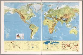 World Map High Resolution by World Physical David Rumsey Historical Map Collection