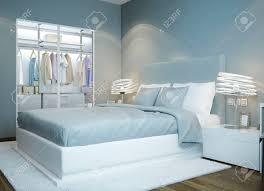 scandinavian bedroom design light blue colored bedroom wardrobe