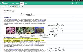 onenote app for android onenote for android now with handwriting support tablet