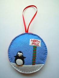 Felt Penguin Christmas Ornament Patterns - christmas elf ornament green red silver santa u0027s helpers