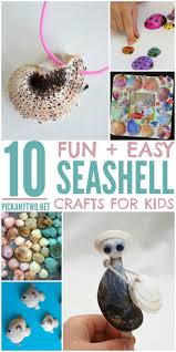 10 fun u0026 easy seashell crafts for kids pick any two