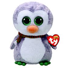 ty beanie boo chilly penguin large soft toy claire u0027s
