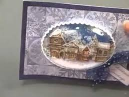 christmas snow globe cards by flower soft youtube