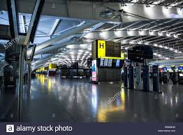 empty terminal 5 at heathrow airport stock photo royalty free