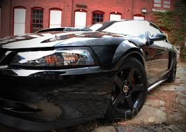 Black 04 Mustang Gt 99 04 Mustang Black Projector Headlights New Svtperformance Com