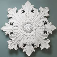 rococo plaster ceiling decoration 1000mm