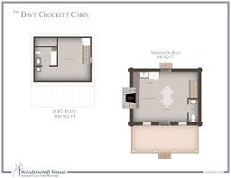 cabin floorplan the davy crockett log cottage style house plan winterwoods homes