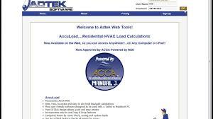 Home Hvac Design Software by Accuload Mobile Web Based Load Calculations Youtube