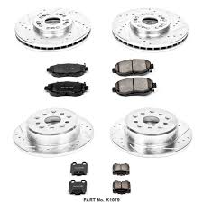 lexus is300 brake pads amazon com power stop k1079 front and rear z23 evolution brake