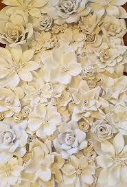flower backdrop wedding backdrop large paper flowers paper flower backdrop