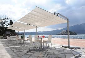 Cantilever Patio Umbrella With Base Offset Cantilever Patio Umbrellas Patioliving