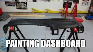2005 gmc sierra 2500hd painting your dashboard youtube