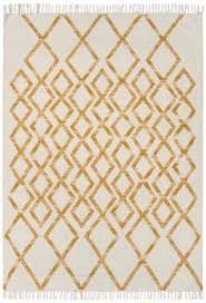 shop for handmade flat weave tribal pattern yellow rug 8 u0027 x 10
